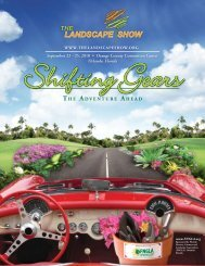 Shifting Gears - Florida Nursery, Growers and Landscape Association