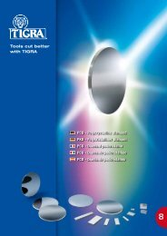 PCD - Polycrystalline diamond PKD - Polykristalliner Diamant ... - Tigra