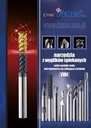 Инструменты из твёрдых сплавов ... - Cantoni Group