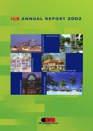 IGB ANNUAL REPORT 2002 - IGB Corporation Berhad