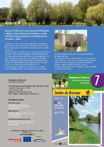 Sentier du Bruveau - Aire sur la Lys