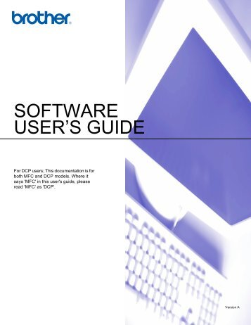 SOFTWARE USER'S GUIDE