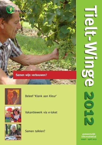 Samen wijn verbouwen? - gemeente Tielt-Winge
