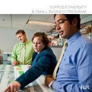 Supplier Diversity & Small Business Program Brochure - HDR, Inc.