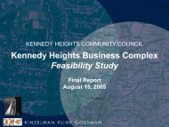 Kennedy Heights Business ComplexFeasibility Study