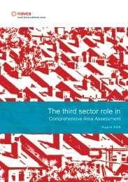 The third sector role in - Partnership for Young London
