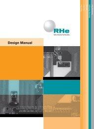 Design Manual - complete version (413KB) - Cicor Technologies