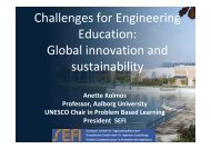 Global innovation and sustainability - SEII