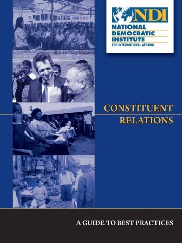 Constituent Relations Manual