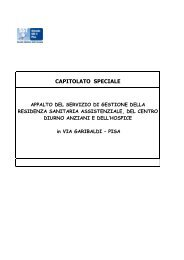 Capitolato Speciale.pdf - Azienda USL 5 Pisa