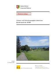 Bericht nach Art. 47 RPV (PDF, 5218kB) - Gemeinde Wollerau