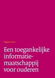 Een toegankelijke informatie maatschappij voor ouderen - Forum ...