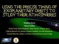 Using the Precise Timing of Exoplanetary Orbits to study their ...