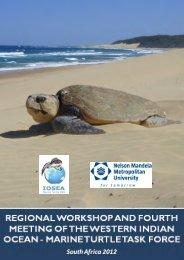 IOSEA Marine Turtle Site Network Pilot Spatial Analysis using Marxan