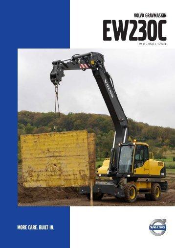 EW230C - Volvo Construction Equipment