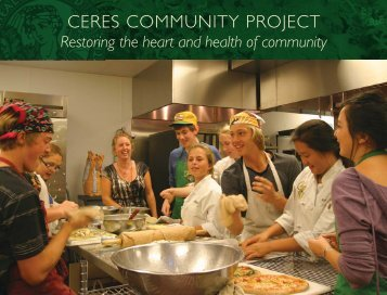 2012 How We Make A Meal Poster - Ceres Community Project