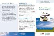 Flyer Wunsch- und Wahlrecht - Inselsberg-Klinik