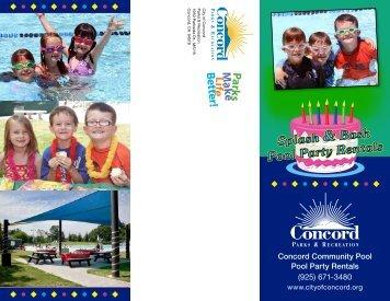 Birthday Party Splash & Bash