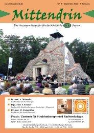 Ausgabe September 2011 - mittendrin-s5.de