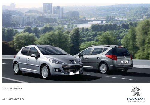 NOVI 207/207 SW - Peugeot