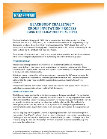 step beachbody ultimate reset challenge group invitation coach