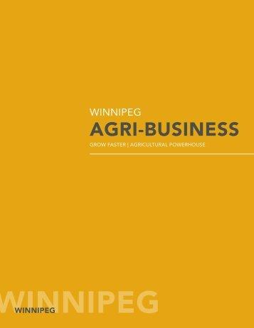 Winnipeg's Agri-business - Economic Development Winnipeg