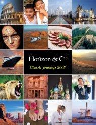 2008 Classic Journeys Brochure - Horizon & Co.