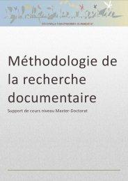 11_04_Methodo Recherche Doc.pdf - Bibliothèque interuniversitaire ...
