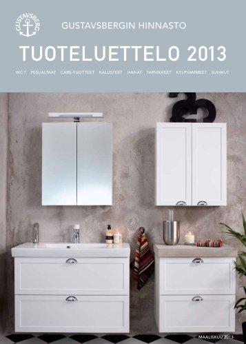 TUOTELUETTELO 2013 - Gustavsberg