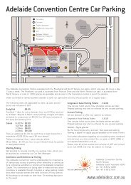 Adelaide Convention Centre Car Parking