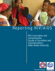 Repor ting HIV/AIDS - Internews