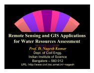 Remote Sensing and GIS Applications for Water Resources ...