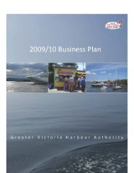 table of contents - Greater Victoria Harbour Authority