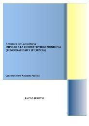 Resumen - Viceministerio de Coca y Desarrollo Integral