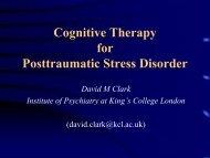 PTSD CASBS talk - ukpts