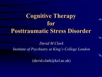 PTSD CASBS talk - ukpts