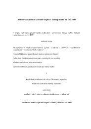 Kolektívna zmluva vyššieho stupňa v štátnej službe na rok 2005