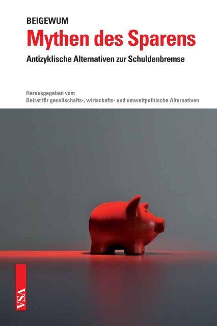 Mythen des Sparens - VSA Verlag