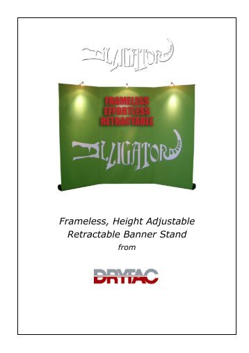 Retractable Banner Stand - Drytac