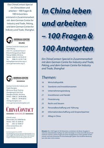 100 Fragen & 100 Antworten - German Centres