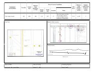 Entry/Crosscut Conditions Equipment System/Miner Test Site Comm ...