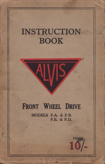 FWD Instruction Book