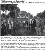 """Seite 4 """"Willkommen im Bohnental"""" Die Passb Fundsach Vorsorge"""