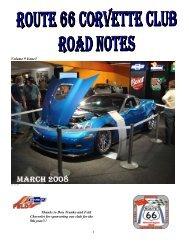 Volume 9 Issue3 - Route 66 Corvette Club