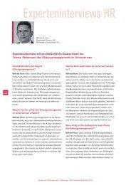 Komplettes Interview - Deutscher Bildungspreis