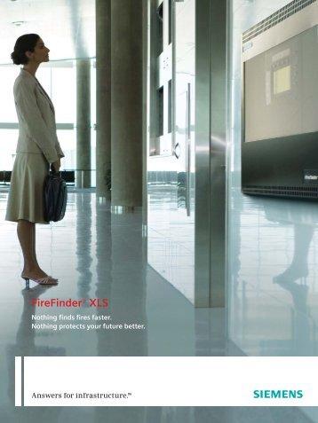 FireFinder® XLS - Siemens