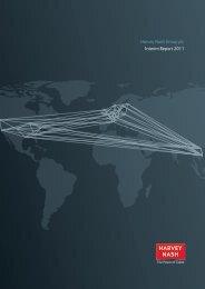 Harvey Nash Group plc Interim Report 2011