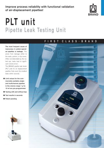 PLT unit - t Labo