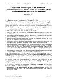 Erläuternde Bemerkungen zu OIB-Richtlinie 6 ... - Energieausweis