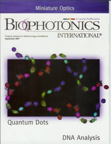 QuantumDots DNAAnalysis